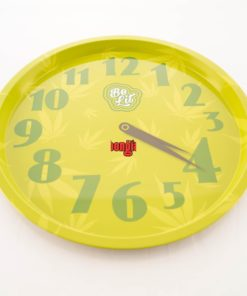 Be Lit-Round Rolling Tray-420 Clock-Trays & Boxes-653856